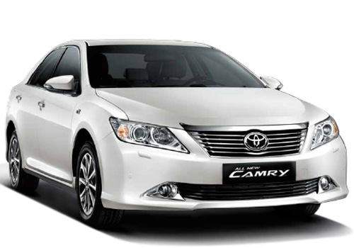 Toyota Camry Front Low Angle View Exterior Picture