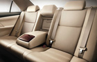 Toyota Camry Rear Seats Picture