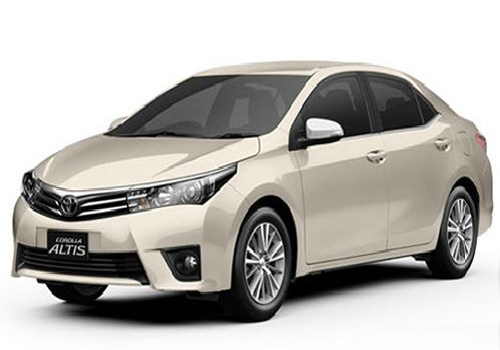 Toyota Corolla Altis Front View Side Picture