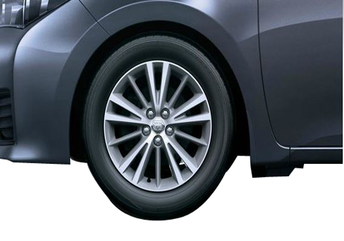 Toyota Corolla Altis Wheel and Tyre Exterior Picture