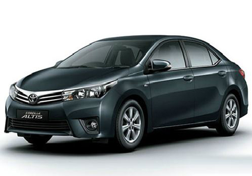 Toyota Corolla Altis Front High Angle View Exterior Picture
