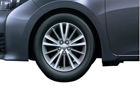 Toyota Corolla Altis Wheel and Tyre Picture