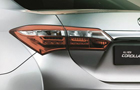 Toyota Corolla Altis Tail Light Picture