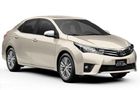 Toyota Corolla Altis Front Low Angle View Picture