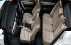 Toyota Corolla Altis Front & Rear Seats Picture