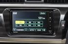 Toyota Corolla Altis Rear AC Control Picture