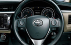 Toyota Corolla Altis Steering Wheel Picture