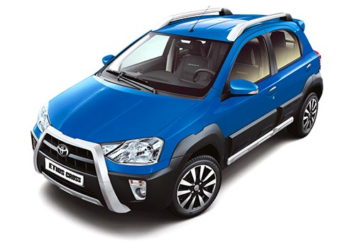 Toyota Etios Cross Side Picture