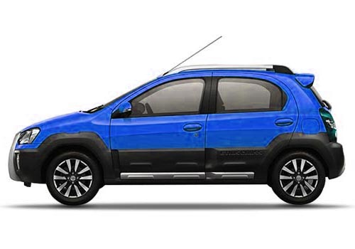 Toyota Etios Cross Cross Side View Exterior Picture