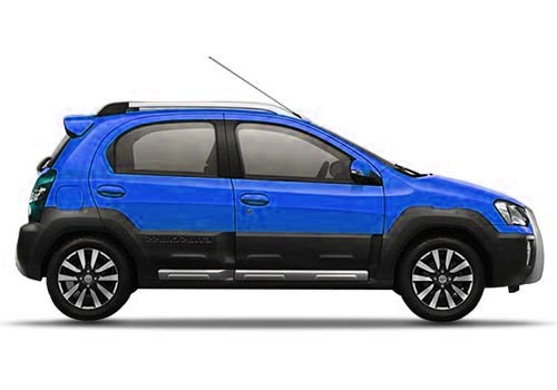 Toyota Etios Cross Side Medium View Exterior Picture