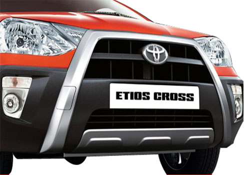 Toyota Etios Cross Front High Angle View Exterior Picture