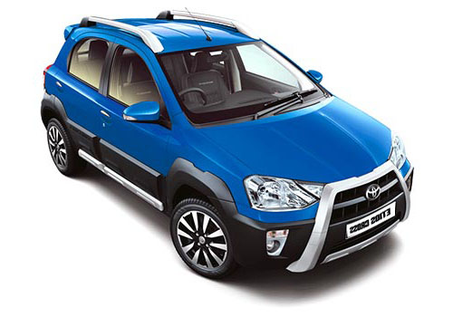 Toyota Etios Cross Front Low Angle View Exterior Picture