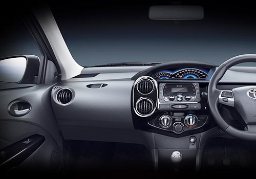 Toyota Etios Cross Dashboard Interior Picture