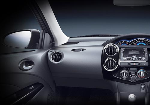 Toyota Etios Cross Dashboard Cabin Interior Picture