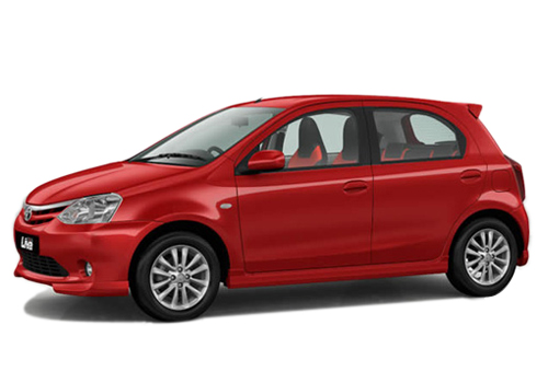 Toyota Etios Liva Front Angle Low Wide Exterior Picture