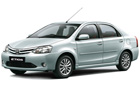 Toyota Etios in Symphony Silver Color