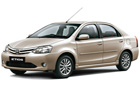 Toyota Etios in Harmony Beige Color