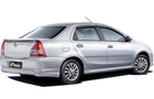 Toyota Etios Rear Angle View Picture
