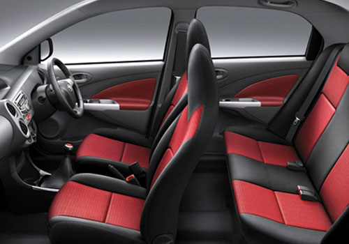 Toyota Etios Front Seats Pictures