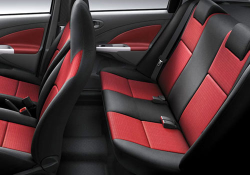 Toyota Etios Rear Seats Interior Picture