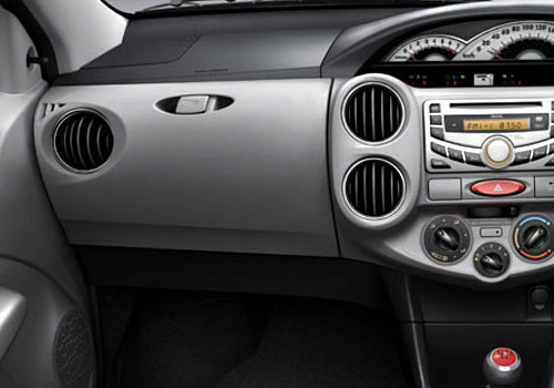 Toyota Etios Side AC Control Interior Picture