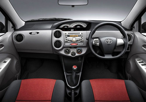 Toyota Etios Central Control Interior Picture