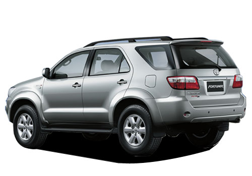 Toyota Fortuner Cross Side View Exterior Picture