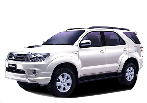 Toyota Fortuner Front Angle Low Wide Exterior Picture