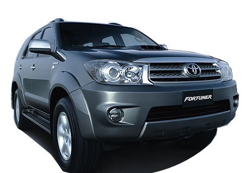 Toyota Fortuner Front Low Angle View Picture