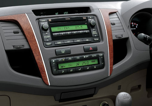Toyota Fortuner Stereo Interior Picture