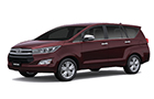 Toyota Innova Crysta Garnet Red Color