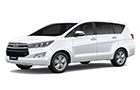 Toyota Innova Crysta Super White