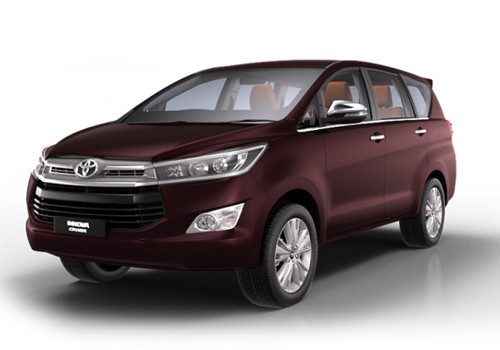Toyota Innova Crysta Front Angle View Exterior Picture