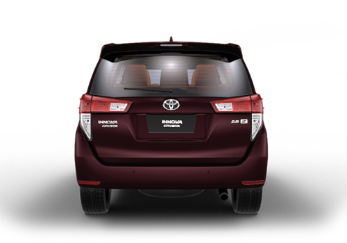 Toyota Innova Crysta Rear View Exterior Picture