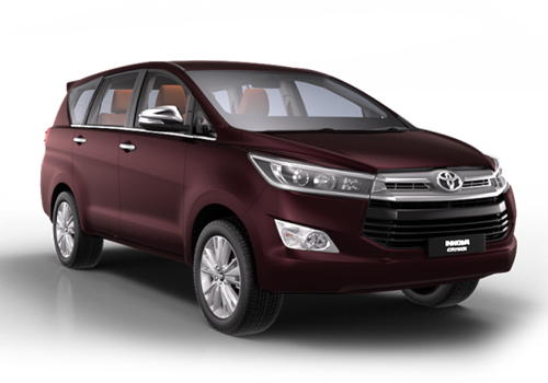 Toyota Innova Crysta Front Side View Exterior Picture
