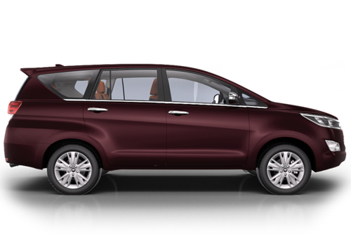 Toyota Innova Crysta Side Medium View Exterior Picture
