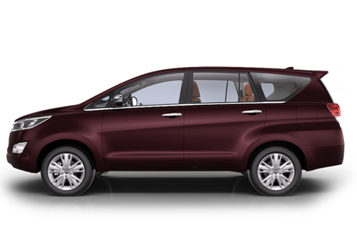 Toyota Innova Crysta Front Angle Side View Exterior Picture
