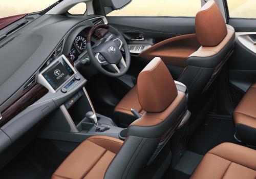 toyota innova crysta front seats interior picture. Black Bedroom Furniture Sets. Home Design Ideas