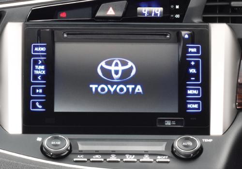 Toyota Innova Crysta Stereo Interior Picture Carkhabri Com