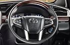 Toyota Innova Crysta Steering Wheel Picture