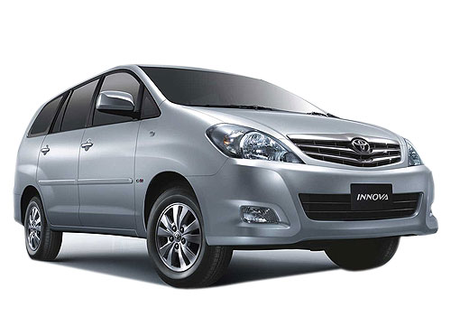 Toyota Innova Front Low Angle View Picture