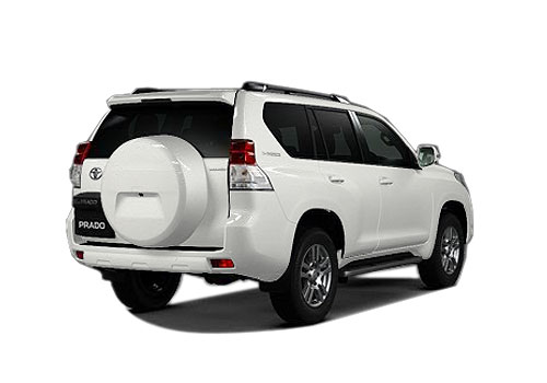 Toyota Land Cruiser Prado Rear Angle View Exterior Picture