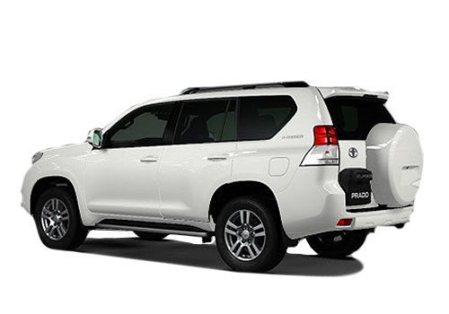 Toyota Land Cruiser Prado Cross Side View Exterior Picture