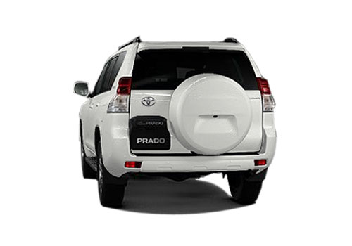 Toyota Land Cruiser Prado Rear View Exterior Picture