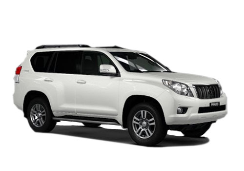 Toyota Land Cruiser Prado Front Side View Exterior Picture