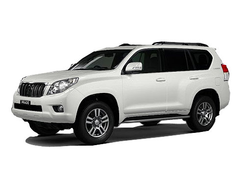 Toyota Land Cruiser Prado Front Angle Low Wide Exterior Picture