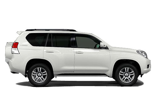 Toyota Land Cruiser Prado Side Medium View Exterior Picture