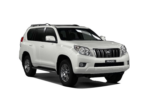 Toyota Land Cruiser Prado Front Low Angle View Exterior Picture
