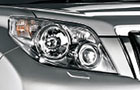Toyota Land Cruiser Prado Head Light Picture