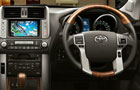 Toyota Land Cruiser Prado Steering Wheel Picture